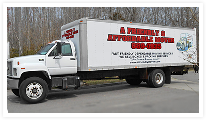 A Friendly & Affordable Mover Truck