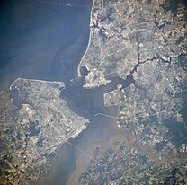 Portsmouth from Space