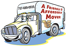 A Friendly & Affordable Mover Logo